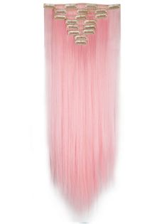 Heavenly Pink Clip In Extensions