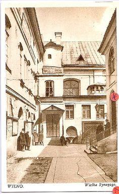 Vilnius Lithuania Synagogue