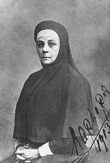 Инокиня Варвара в миру — Варвара Алексеевна Яковлева; (ок. 1850 — 5 [18] июля 1918, Алапаевск) одна из первых сестёр Марфо-Мариинской обители, келейница её основательницы великой княгини Елизаветы Фёдоровны. Канонизирована в лике преподобномучениц (в 1981 году в РЦПЗ и в 1992 году в РПЦ), память совершается (по юлианскому календарю): 5 июля (день смерти), 29 января (Собор святых новомучеников и исповедников Российских) и 2 августа (Собор Московских святых)