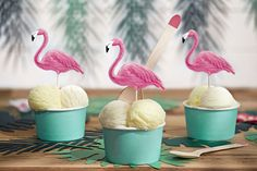 Each pack contains 6 flamingo toppers that can be used as cake toppers or food picks. Each pack contains 6 flamingo toppers that range in size from to Flamingo Party, Flamingo Cupcakes, Flamingo Birthday, Aloha Party, Cupcake Picks, Cupcake Toppers, Cupcake Party, Party Cakes, Party Mottos