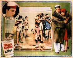 College (1927) - Buster Keaton & Anne Cornwall