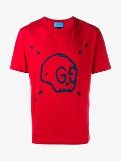 'Gucci Ghost' Skull Print T-Shirt Gucci Sweatshirt, Fashion Models, Mens Fashion, Closet Essentials, Fine Watches, Skull Print, Brown Fashion, Men's Style, Knits