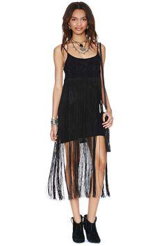 Fringe with Benefits Dress