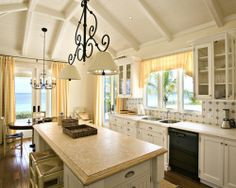 Mediterranean Kitchen Design | Beautiful Homes Design