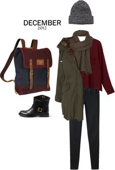 """DECEMBER 2012"" by sarahlolz ❤ liked on Polyvore"