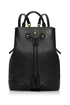 Tory Burch Frances Backpack, $550; toryburch.com Why you need it: This is the grown-up backpack. You need a carry all for traveling or trips to the gym; this is the one!  - ELLE.com (=)