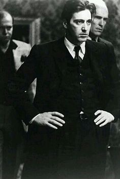 "Al Pacino and Robert Duvall in ""The Godfather"". Al Pacino, Mafia, The Godfather, Great Films, Good Movies, I Movie, Movie Stars, Don Corleone, Pier Paolo Pasolini"