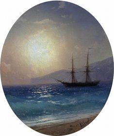 Ivan Aivazovsky - Sea.