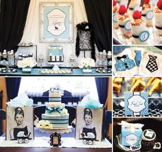 """Creative & Glam """"Breakfast with Tiffany"""" Baby Shower from the talented Banner Events! http://hwtm.me/Z0dwkM"""