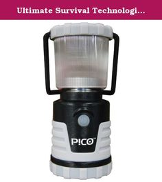 Ultimate Survival Technologies Pico Lantern, Glow in the Dark. This compact, super bright LED Lantern is perfect for backcountry or emergency use. Available in Silver, Green, Orange, Fuchsia and GLO, the impact and weather resistant rubberized ABS housing provides for a super tough little light. It will burn an amazing 91 hours on low providing 15 lumens of light, and 22 hours on high at 120 lumens. Takes three easy to find AA batteries, has a removable globe to convert to an area light…