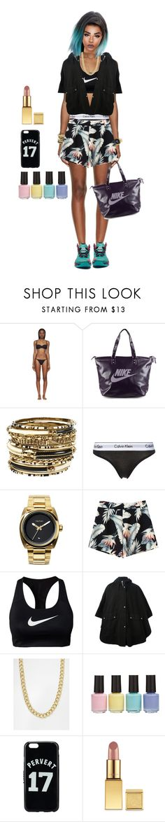 """""""Westwood Model5"""" by shadraw ❤ liked on Polyvore featuring Proenza Schouler, NIKE, Amrita Singh, Calvin Klein Underwear, Nixon, SILENT by Damir Doma, Pieces, BP., Givenchy and AERIN"""