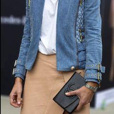 Thanks @stylesnooperdan I forgot I had this outfit xx @balmainparis #Chanel #Cartier @shakuhachi