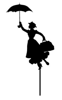 Birthday Acrylic Cake Topper Mary Poppins ARC1748 MADE IN