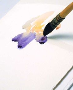 Art Instruction Blog- water color blooming
