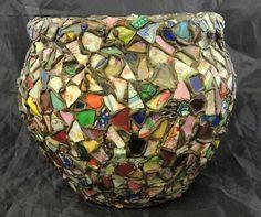 Antique Shard Memory Pottery Jardieniere