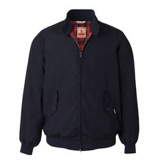 Dark Navy G9 The Original Harrington Jacket Since 1937 'Made In England'