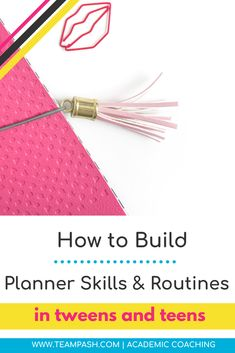 Help the child to use a planner - Team Pasch Academic Coaching, Note Taking Strategies, Note Taking Tips, School Planner, School Schedule, School Tips, Parents As Teachers, New Teachers, Study Skills, Life Skills