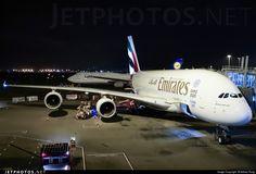 Airbus A380-861 A6-EEF 113 Hong Kong-Chek Lap Kok Int'l Airport - VHHH