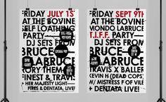 Bruce LaBruce, Self Loathing & Mondo Party