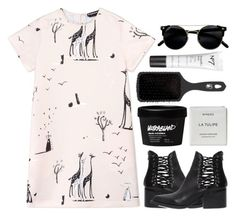 """""""Untitled #853"""" by andreiasilva07 ❤ liked on Polyvore featuring Rochas, Windsor Smith, The Wet Brush and Byredo"""