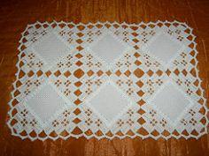 croche-para bandeja (Lu mos e arte) Tags: jogo cozinha tecido croche