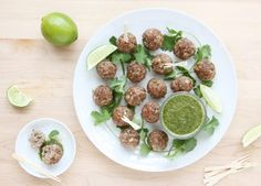 These aromatic Indian Lamb Meatballs are a delicious twist on classic Indian kebabs. Serve #recipe #cooking #meatballs #indian #lamb #kebab