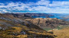 View from Treble Cone ski field, Wanaka, New Zealand Source: Ziphius (reddit)