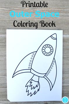 Do Your Kids Love To Color This Free Printable Outer Space Coloring Book Has 10