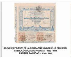 Catalogo de bonos y acciones de la Compagnie universelle du Canal interoceanique de Panama - Disponible en Weil Art