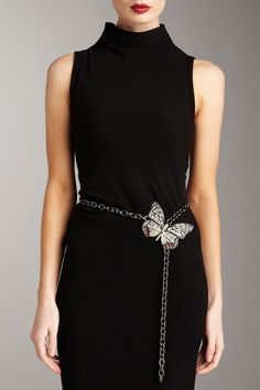 Valentino...the butterfly belt is extraordinary~ lbd~~