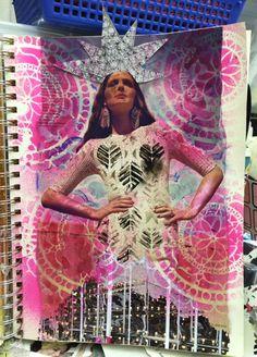 Carmen B. Norris: Art Challenge- 15 Days of 15 minute Mixed Media-13...