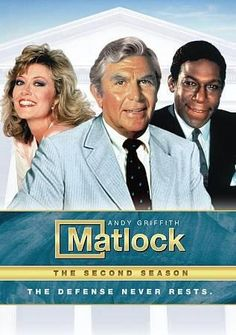 There are TV lawyers and then there's Matlock. Folksy yet aggressive, Harvard educated but still down to earth--Andy Griffith's portrayal of the clever Southern attorney is one of the all-time classic