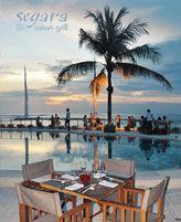 "Segara Asian Grill "" Amazing Kuta's Hidden Gem "" Located beach front next to Discovery Kartika Plaza Hotel Jl. Kartika Plaza, kuta Bali 80361 Indonesia phone : +62 361 769 755 email : reservation@segaraasian.com www.segaraasian.com https://www.facebook.com/SegaraAsian http://www.youtube.com/watch?v=3Gwmrl4mjus http://www.tripadvisor.co.id/Restaurant_Review-g297697-d3155771-Reviews-Segara_Asian_Grill-Kuta_Bali.html Google+ : SegaraAsian Grill Twitter : Segara Asian Grill"
