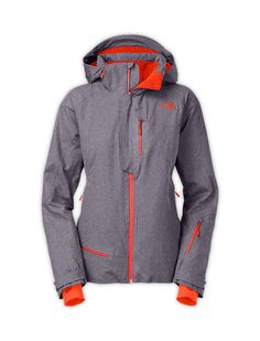 562b2519d2a4 The North Face Furano Novelty Jacket in greystone blue heather Mens Ski  Clothes