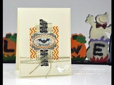 Washi Tape Halloween Card