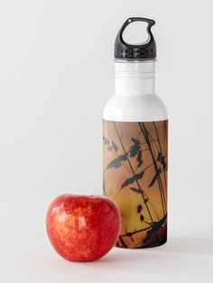 Bring the calming, warm morning sun with you with this georgous Water Bottle. Shine all day! Morning Sun, Stainless Steel Bottle, Calming, Water Bottle, Warm, Mugs, Accessories, Tumblers, Water Bottles