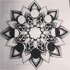 """""""Mandala For Fernando""""- 2013 on Behance"""
