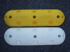 Rumble Bars or Pavement Bars, available in Yellow or White in lengths of and Supplied by Speed Humps Australia with all bolts and washers or installation can be arranged by our qualified team. Bolts And Washers, Pavement, Sunglasses Case, Divider, Surface, Australia, Bar, Yellow, Products