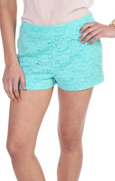 Deb Shops solid #lace zip back #shorts