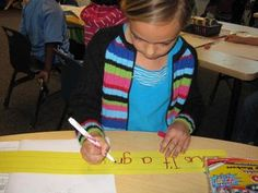 6 traits of primary writers: organization. talks about how to teach it