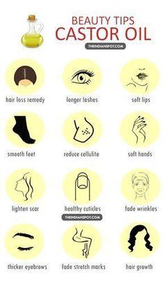 Beauty Tips - Castor Oil