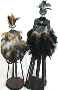 "cool MIXED MEDIA Lot 2 Matching OWL Art Santos Reproduction Cage Dolls 21"" Check more at https://aeoffers.com/product/arts-and-crafts-collectibles-handmade-online/mixed-media-lot-2-matching-owl-art-santos-reproduction-cage-dolls-21/"