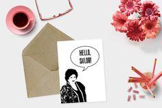 75 Gilmore Girl Gift Ideas that every Gilmore Girls fan will absolutely love! Gilmore Girls Gifts, Girlmore Girls, The Wedding Singer, Cards For Friends, Funny Cards, Girl Gifts, Art Girl, Wedding Cards, Etsy Seller