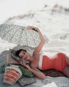 Photographed by Karen Radkai for Vogue (July 1954)