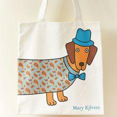 Mary Kilvert Larry the Long Dog Bag
