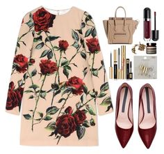 """""""Thorns"""" by finding-0riginality ❤ liked on Polyvore featuring Dolce&Gabbana, Yves Saint Laurent, Topshop, Marc Jacobs and Aesop"""
