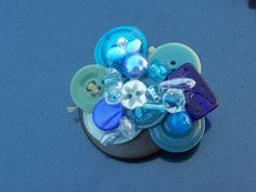 button brooche