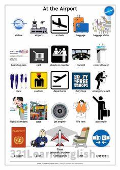 Forum   ________ Learn English   Fluent LandVocabulary at the Airport   Fluent Land