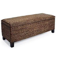 "Solano Storage Bench ($299)- #48831 (48""WX18""DX18""H (30 lbs.)"
