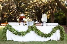 Wedding Drink Station | photography by http://www.julietelizabeth.com/